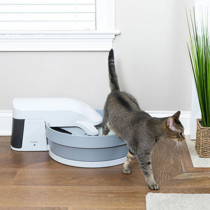 bac à litière idéal chat petsafe simply clean