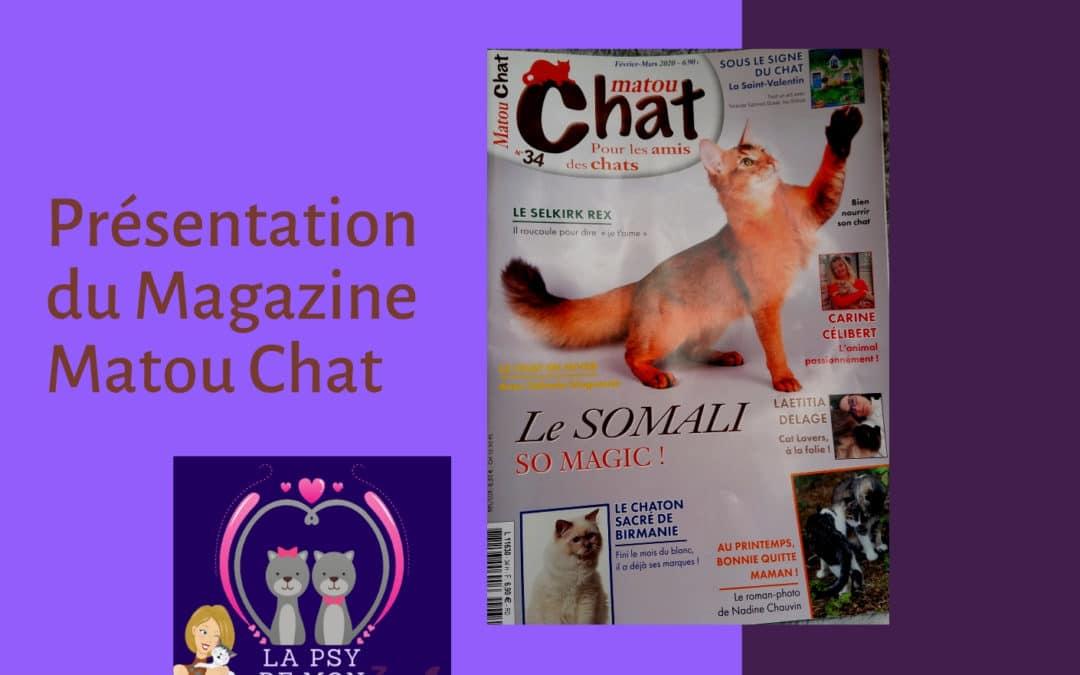 Présentation du Magazine Matou Chat