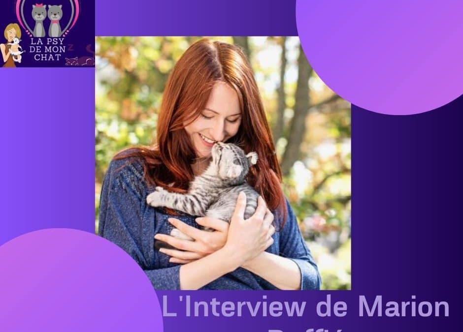 L'Interview de Marion Ruffié