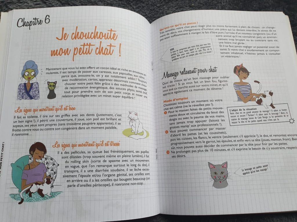 livre : mon chat et moi