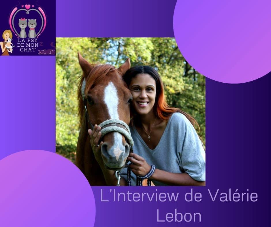 Interview de Valérie Lebon