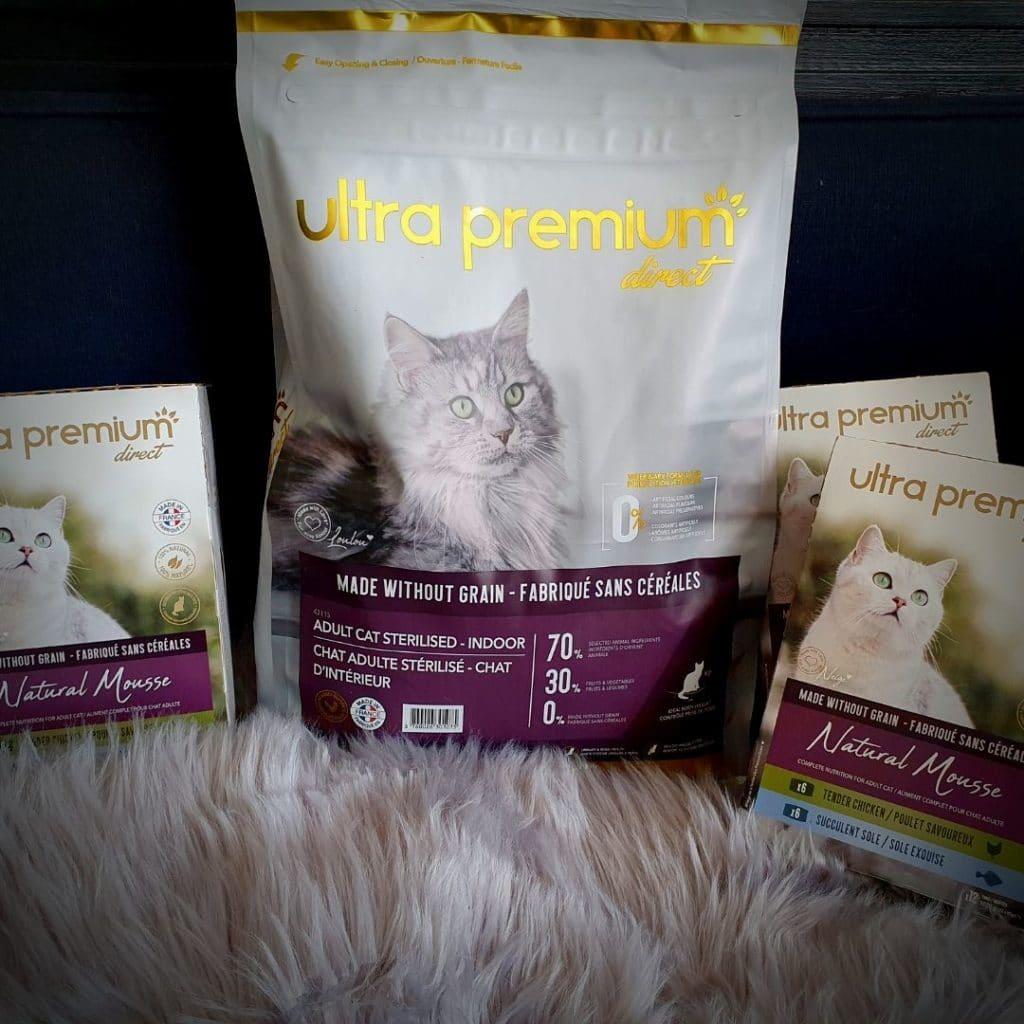 les croquettes pour chat Ultra Premium Direct -