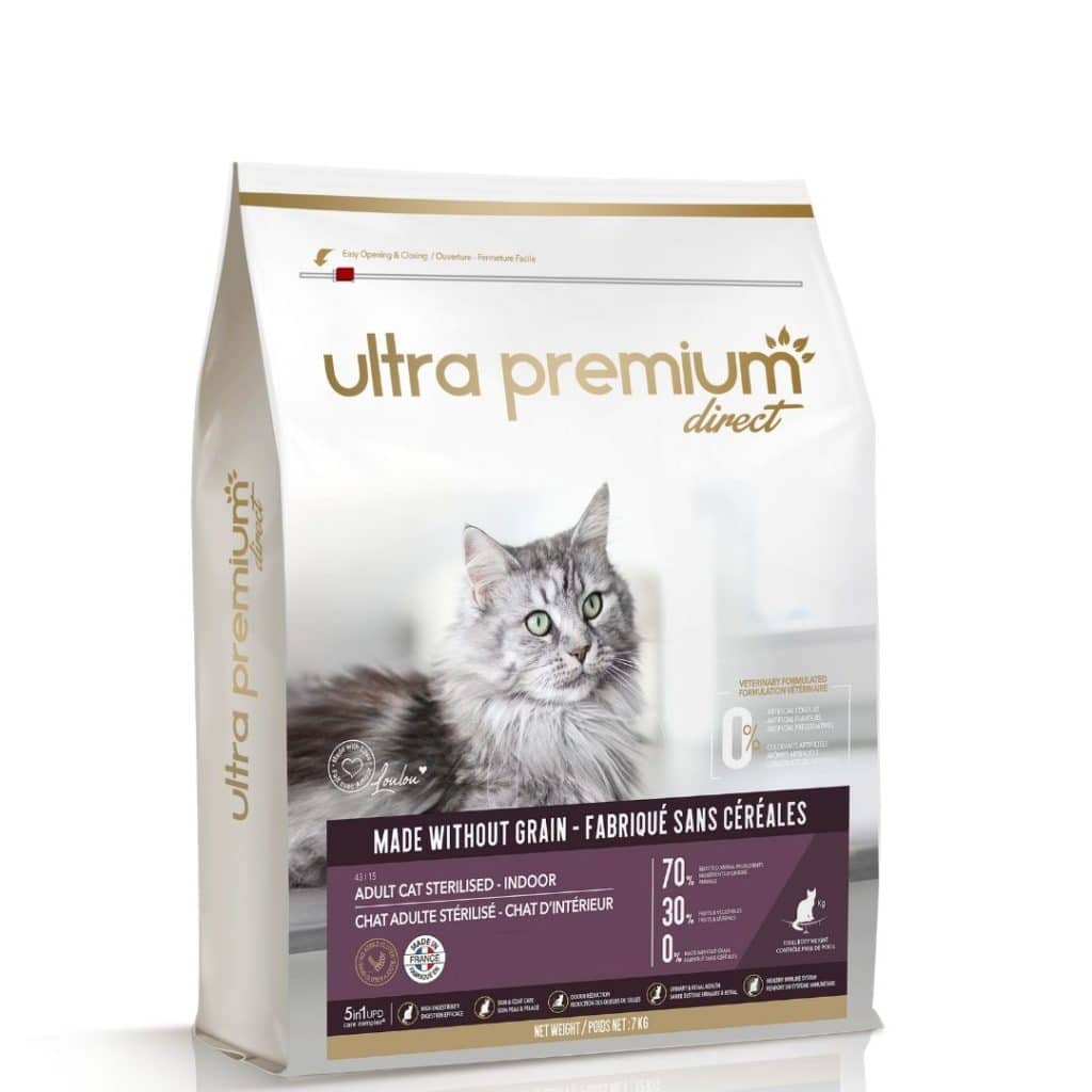 les croquettes pour chat  Ultra Premium Direct