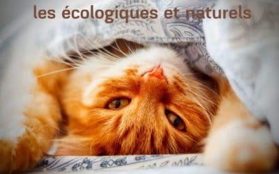 Lits et paniers pour chat : les écologiques et naturels