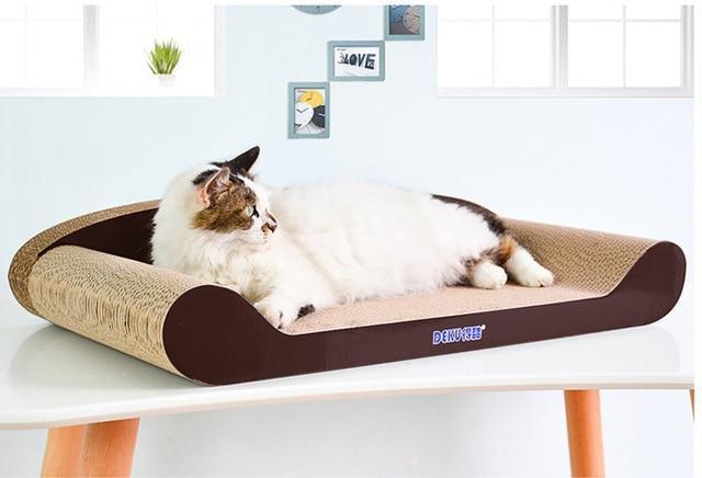 sofa lit pour chat naturel