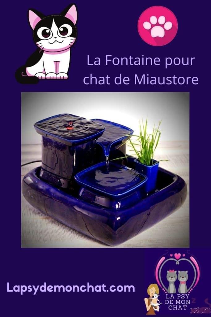 La Fontaine pour chat de Miaustore - pinterest