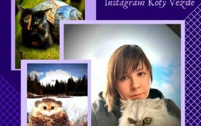 Galina Bugaevskaya du compte Instagram Koty Vezde