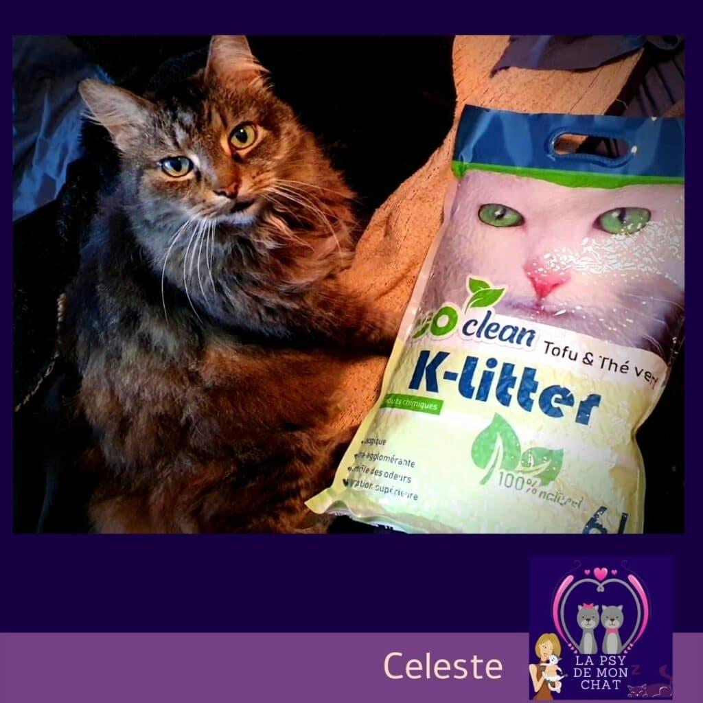 - K-Litter La litière écologique pour chat au tofu -