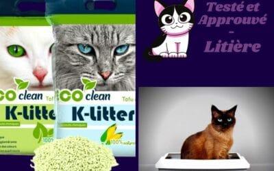 K-Litter : La litière écologique pour chat au tofu