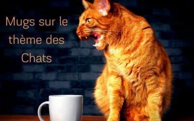 Mugs sur le thème des chats