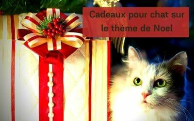 Cadeaux pour chat sur le thème de Noel