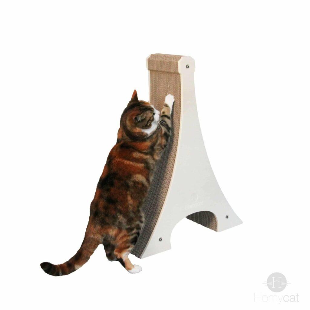 Griffoir Tour Eiffel Pour Chat En Carton Recyclable de chez Homycat