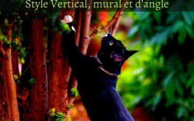 Un griffoir design pour mon chat :Style vertical, mural et d'angle