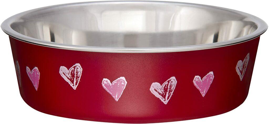 Gamelle Loving Pets rouge valentine