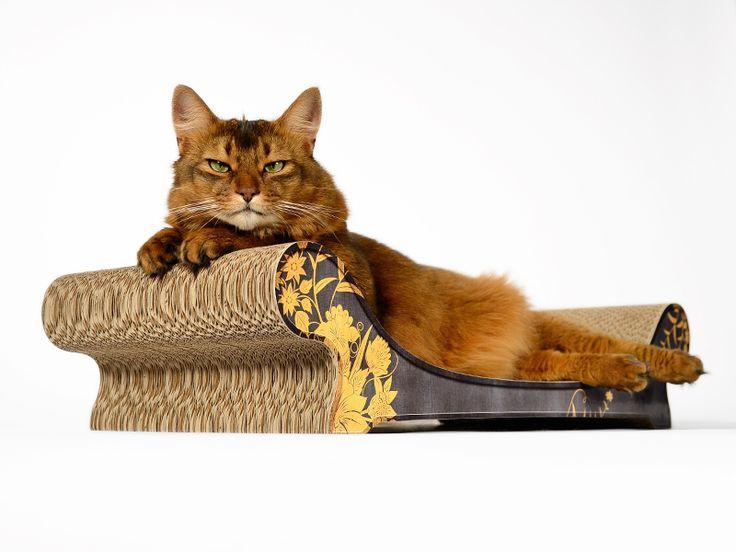 Kratzmöbel le Canape Katzensofa de chez Cat-On
