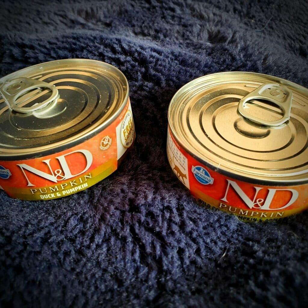 Des boites de chez Farmina Pet Foods France  N&D
