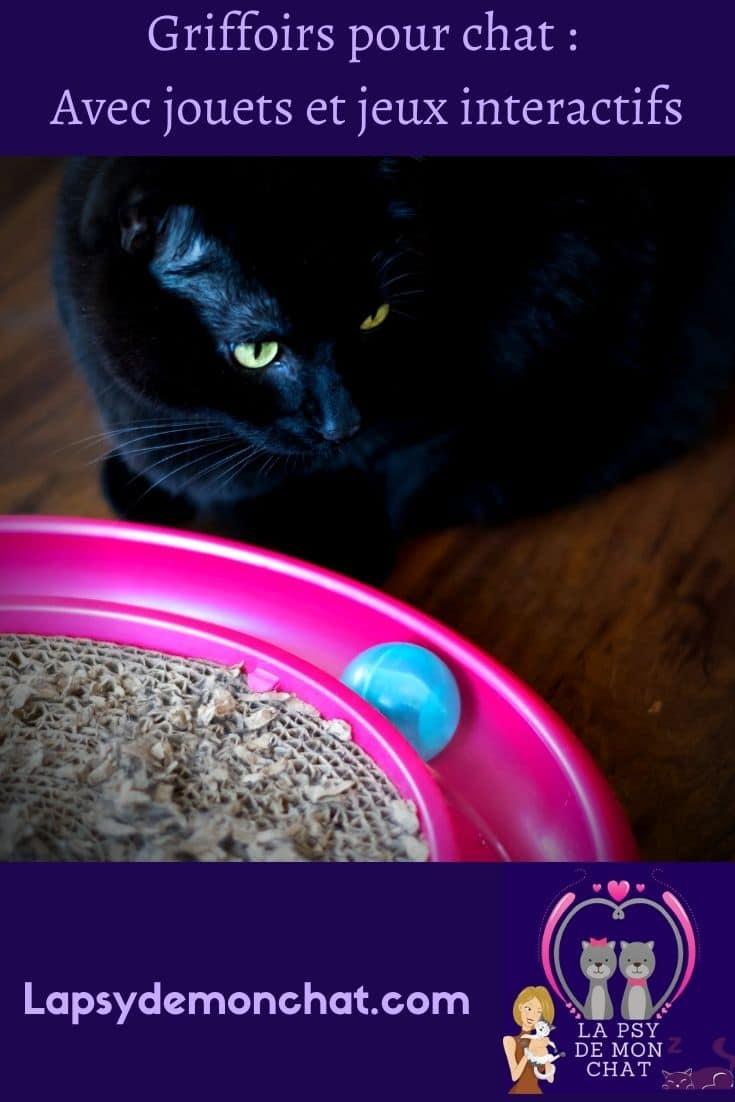 Griffoirs pour chat Avec jouets et jeux interactifs - pinterest