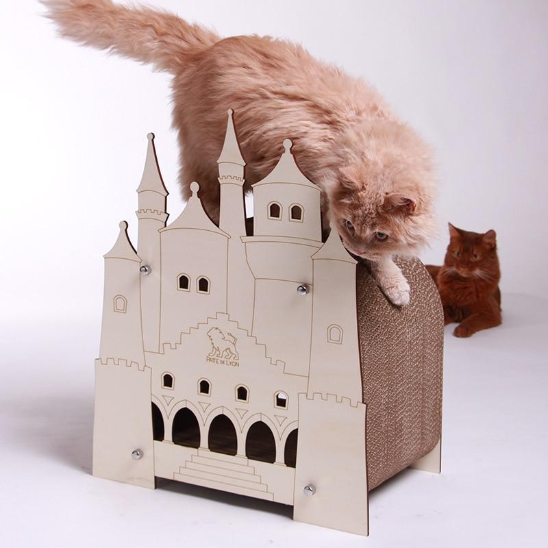 Loge griffoir chat Vie de château