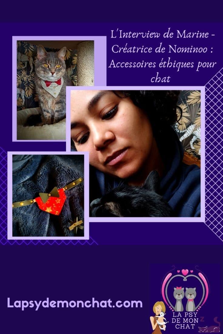 Nominoo Des accessoires éthiques et écologiques pour chat - pinterest