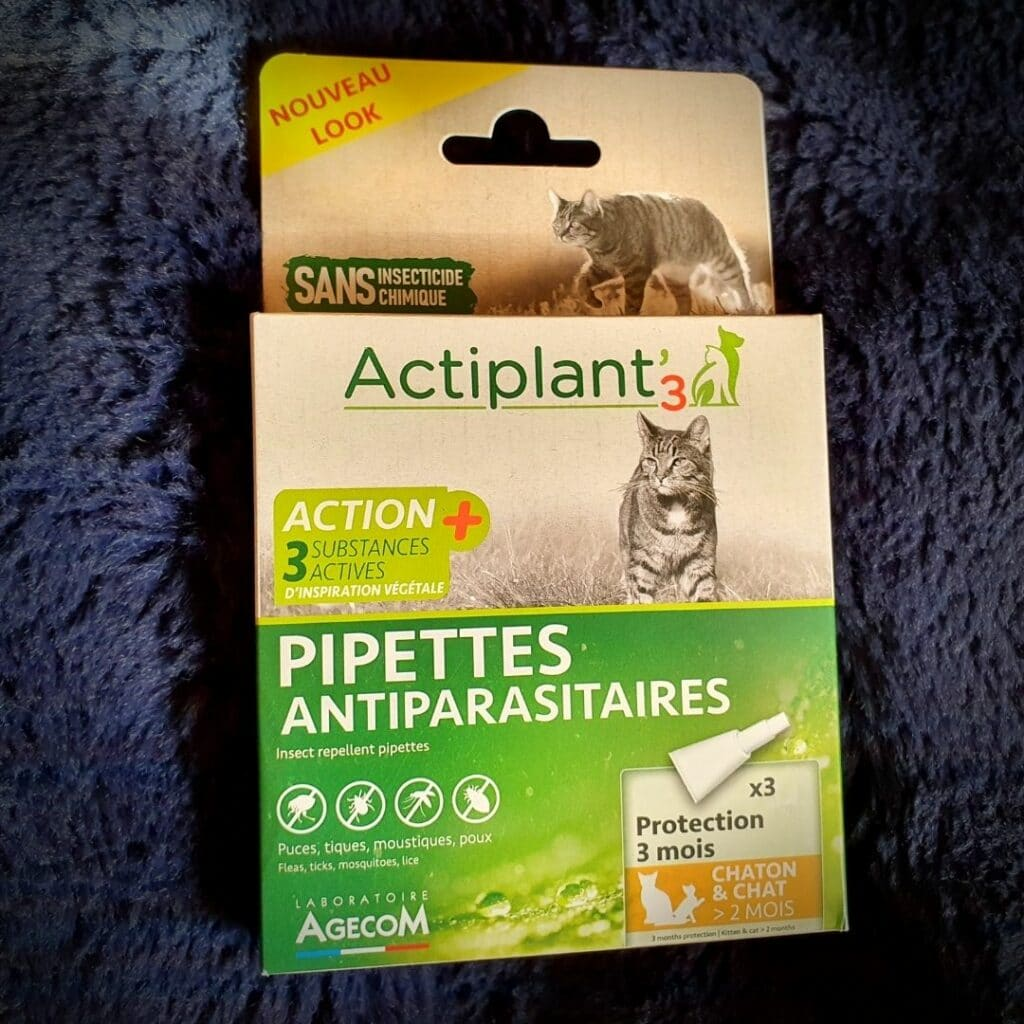 Pipettes anti parasitaires Actiplant3