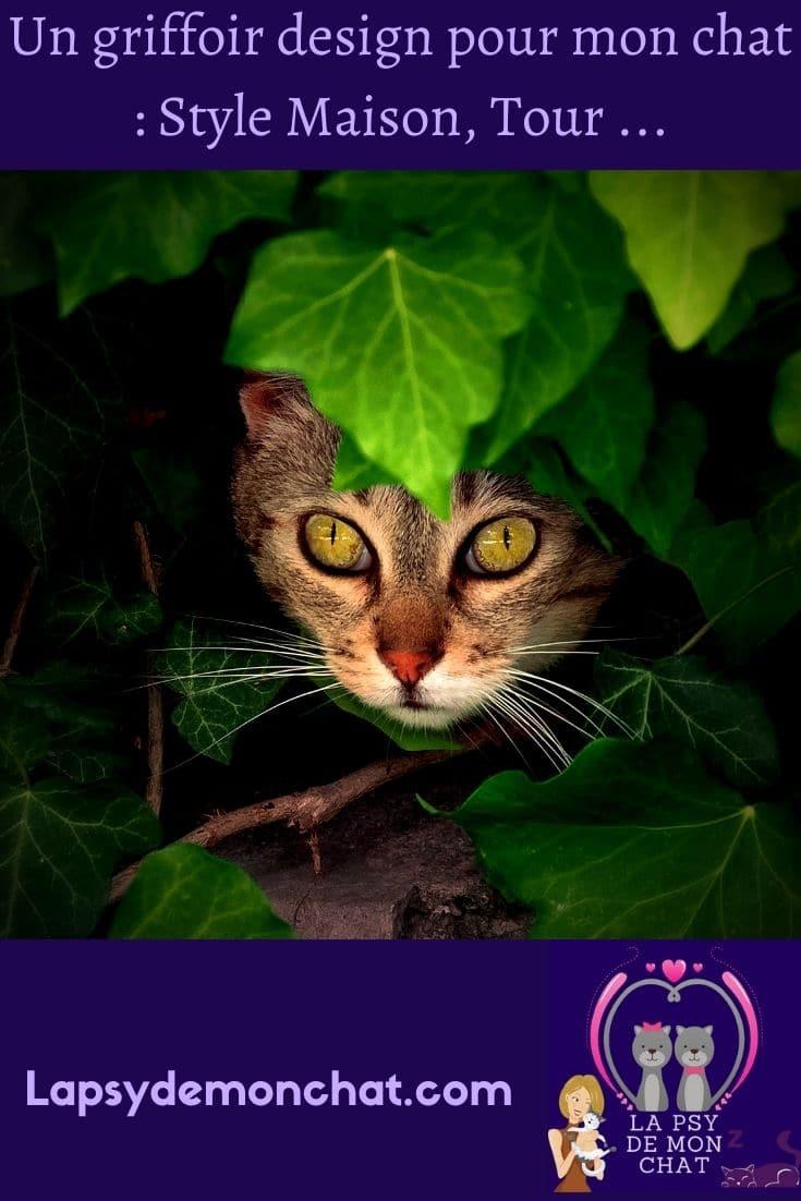 Un griffoir design pour mon chat Style Maison, Tour...- Pinterest