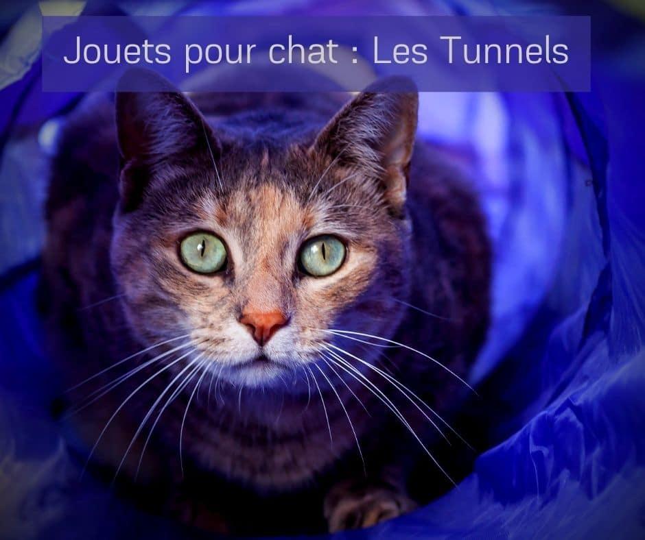 Jouets pour chat _ Les Tunnels -