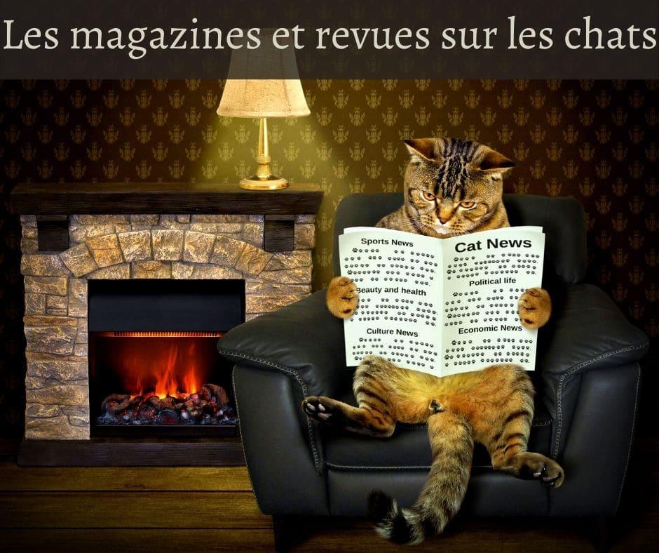 Les magazines et revues sur les chats