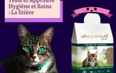 Ultra premium direct – La litière végétale pour chat 100% naturelle