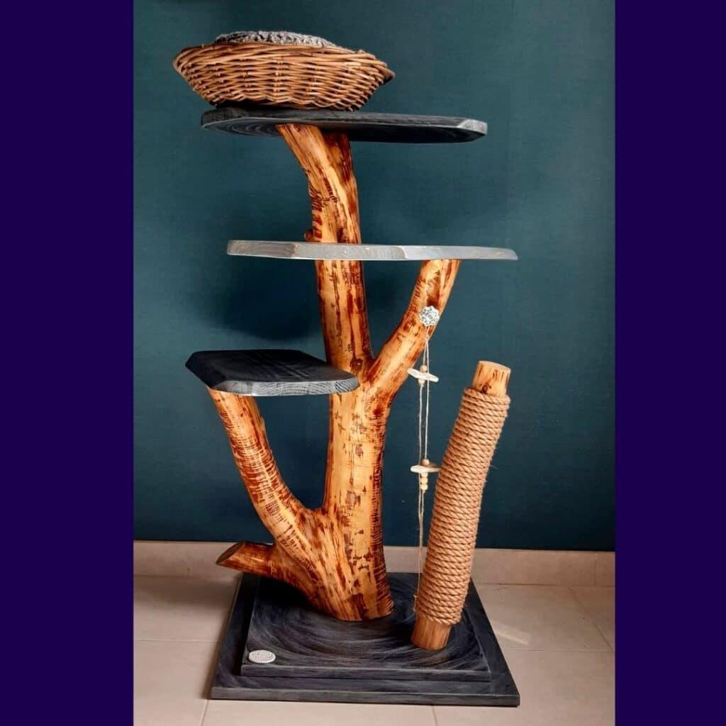 arbre à chat - l'arbre de Pilou -