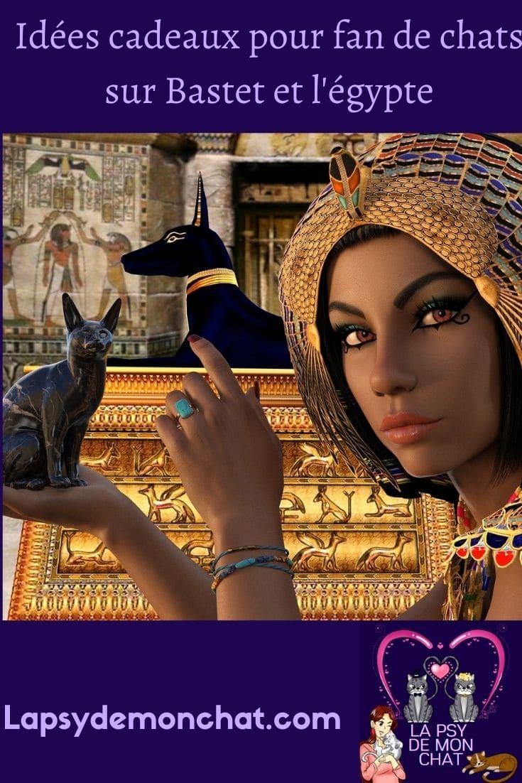 Idées cadeaux pour fan de chats sur Bastet et l'Egypte - pinterest