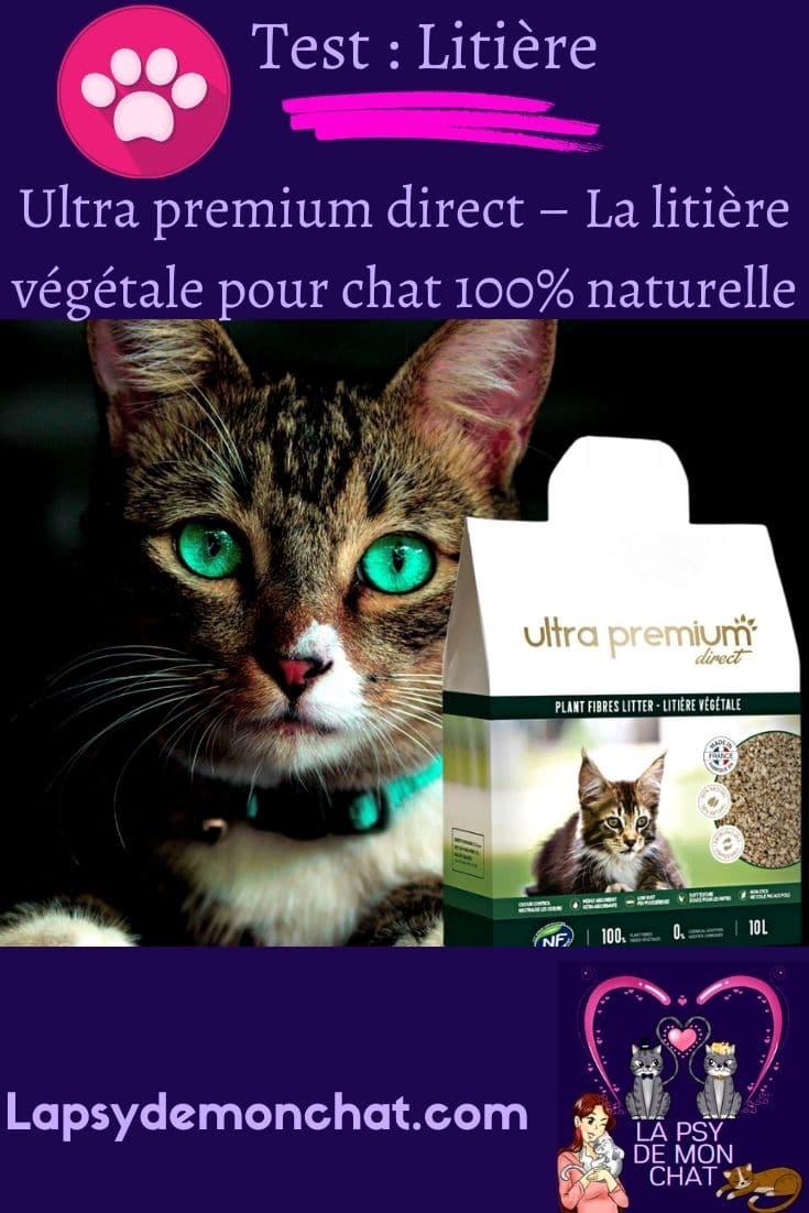 Ultra premium direct – La litière végétale pour chat 100% naturelle - pinterest