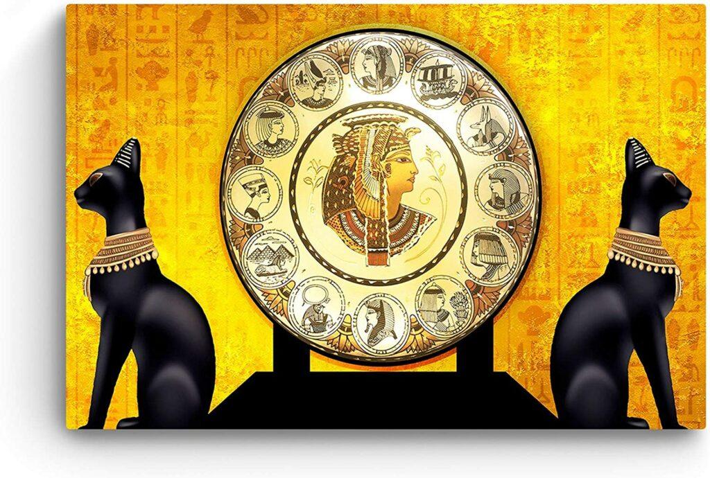 Impression sur Toile Mythe Égyptien