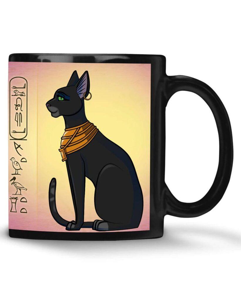 Mug chat egyptien Bastet