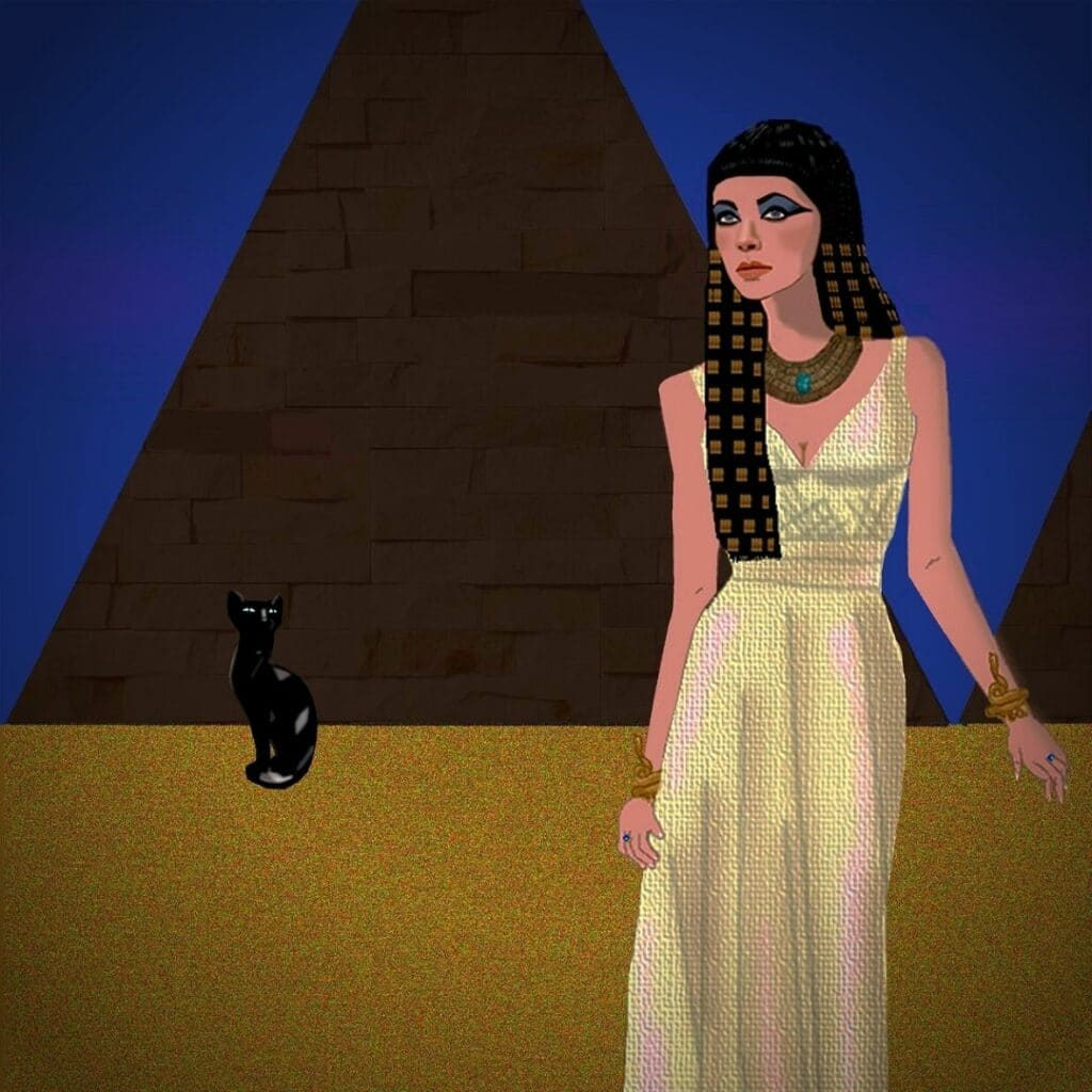 chat egyptien