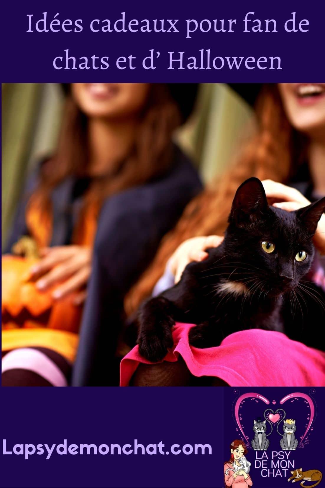 Idées cadeaux pour fan de chats et d' Halloween - pinterest