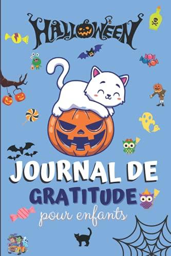 Journal de Gratitude d'Halloween pour Enfants